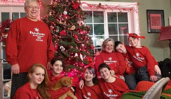 Family Christmas Sweaters T-Shirt Photo
