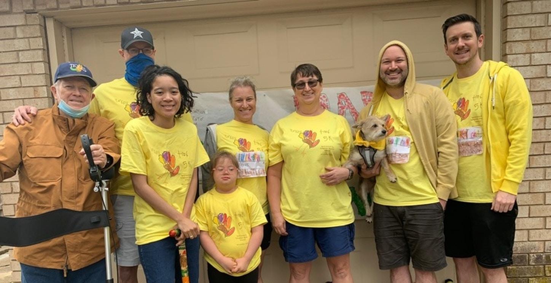 Simpson Starter School Turkey Trot 5 K T-Shirt Photo