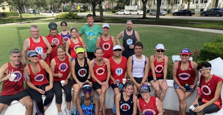 Hunters Creek Running Club T-Shirt Photo