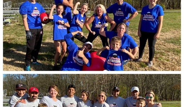 Family Kickball Tournament T-Shirt Photo