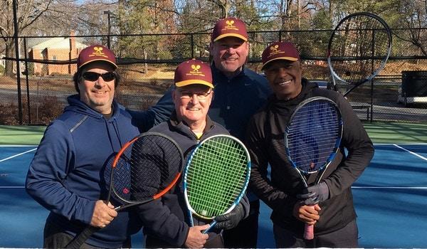 Reston Men's Winter Tennis League T-Shirt Photo