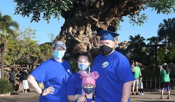 Kearney Family Adventure To Disney World T-Shirt Photo