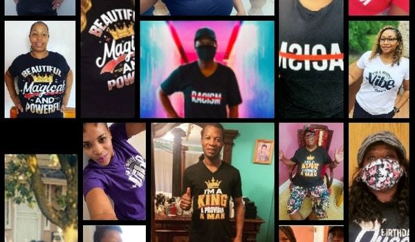 Awesome Supporters  T-Shirt Photo