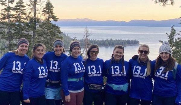 Lake Tahoe Half Marathoners T-Shirt Photo