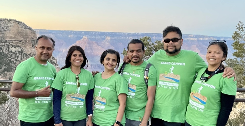 Grand Canyon Hike T-Shirt Photo