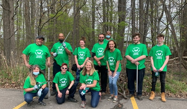 Earth Day Clean Up With Saw Systems T-Shirt Photo