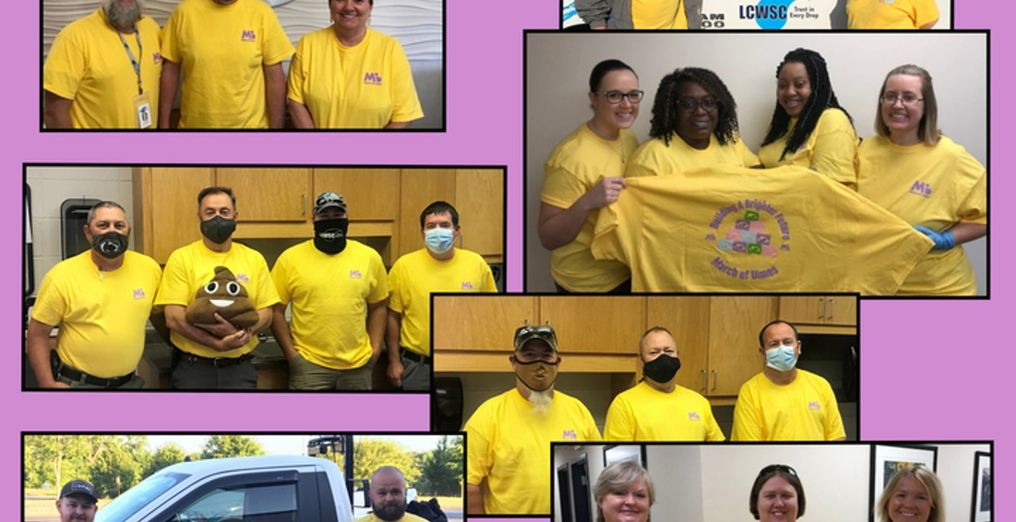 March Of Dimes 2021 At Lcwsc T-Shirt Photo
