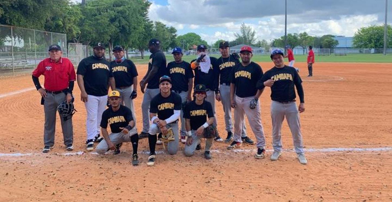 Camoapa Baseball Miami T-Shirt Photo