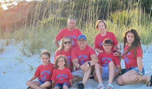 Family Summer Vacation T-Shirt Photo