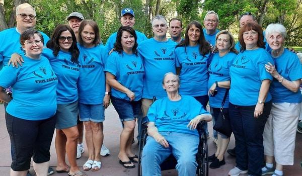 Twin Cousin Reunion T-Shirt Photo