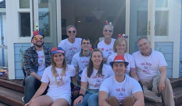 Jordan/Menzel Family T-Shirt Photo