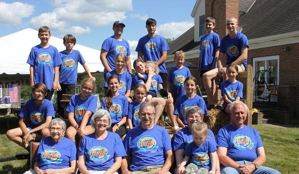 11th Cousins Camp T-Shirt Photo