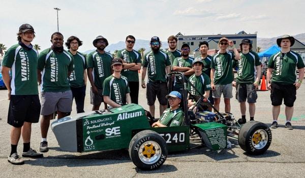Viking Motorsports Fsae Team T-Shirt Photo