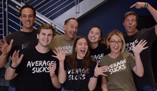 Average Sucks! T-Shirt Photo