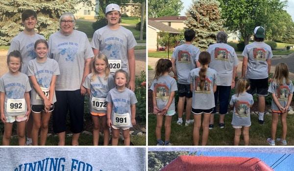 Running For Vic T-Shirt Photo