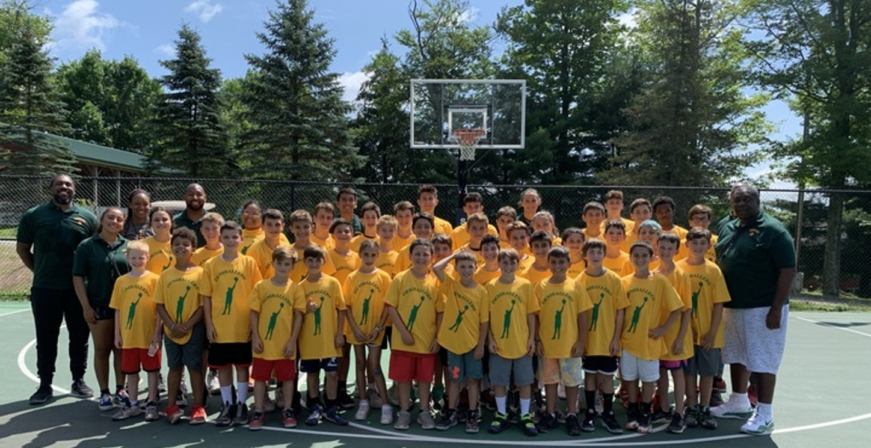 Summer Basketball Camp T-Shirt Photo