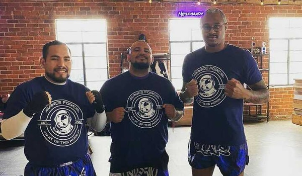 Team Space Force Mma T-Shirt Photo