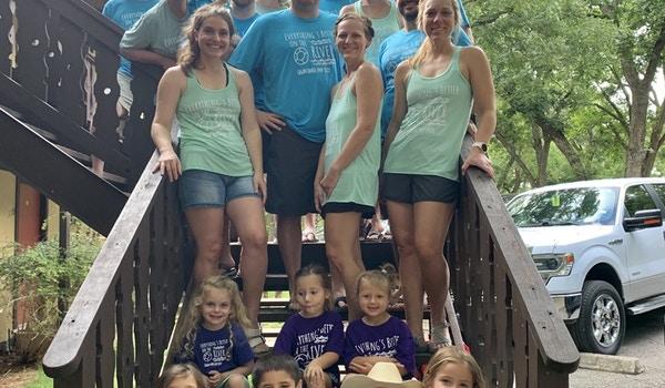 The Campbell, Hazzard, Johnson, & Maruri Annual River Trip T-Shirt Photo