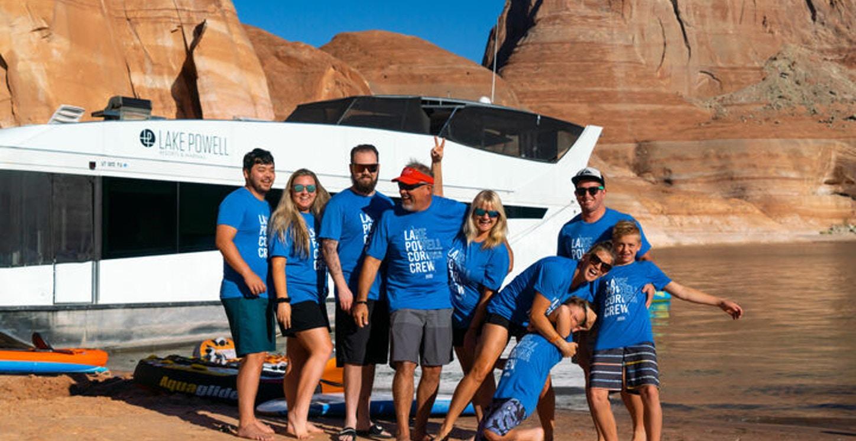 Lake Powell Corona Crew T-Shirt Photo