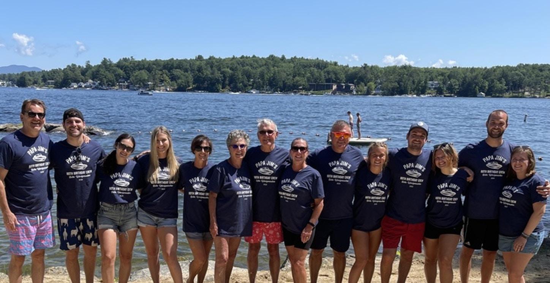 Papa Jim's Crew T-Shirt Photo