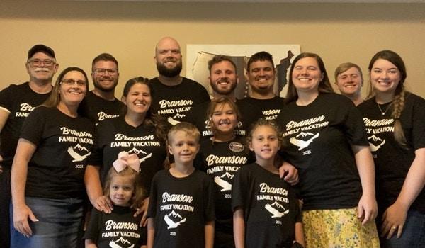 Family Making Memories  T-Shirt Photo
