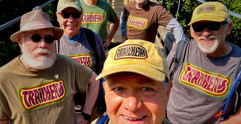 Trailheads Hiking Group T-Shirt Photo