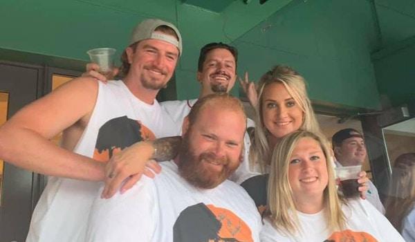 Rick's 60th Surprise Celebration   Zac Brown Band   Fenway Park T-Shirt Photo