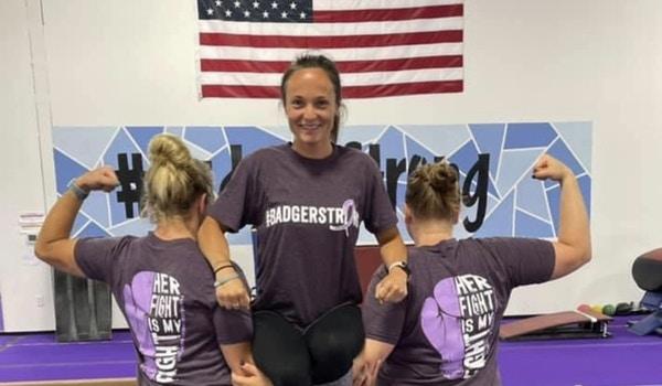 #Badgerstrong T-Shirt Photo