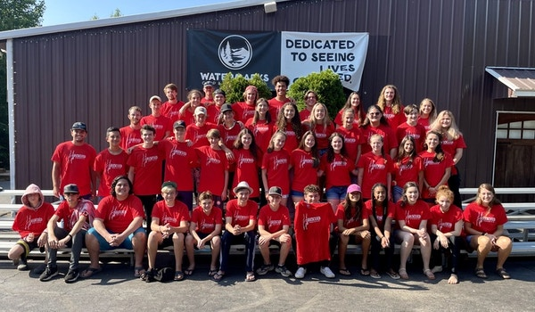 316 Camp Rescued 2021 T-Shirt Photo