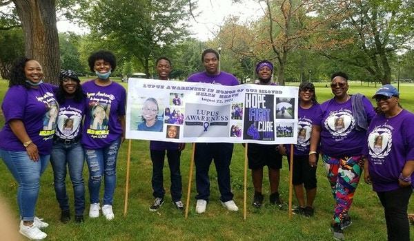 """Team"""" I Am  Helen Strong 3521 Lupus Awareness""""! T-Shirt Photo"""
