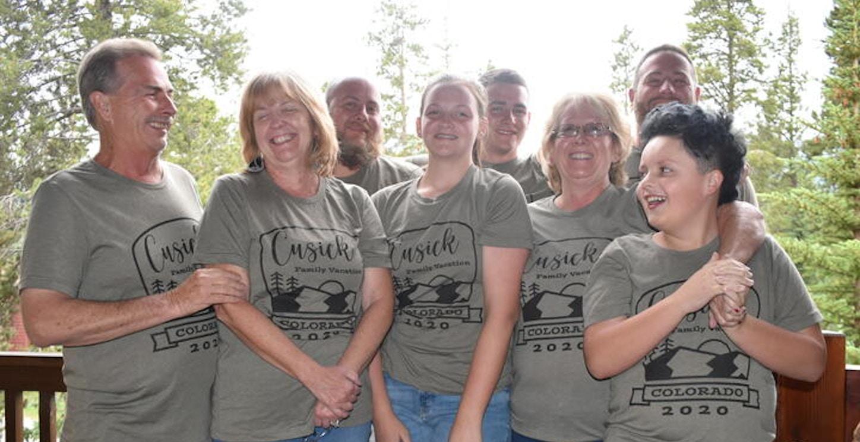 Family Vacation To Colorado T-Shirt Photo