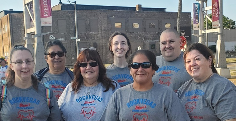 Team Rock Vegas!  T-Shirt Photo
