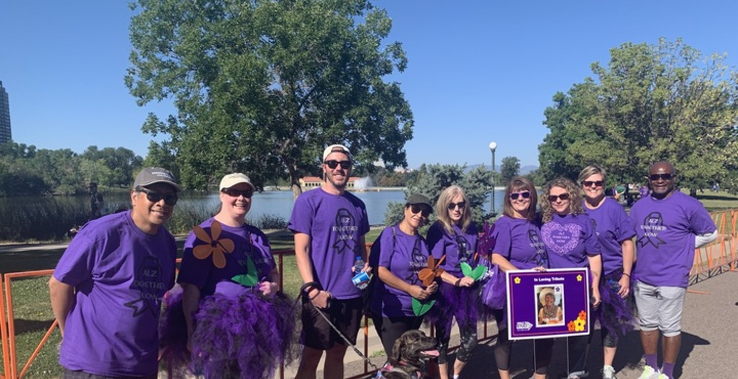 Alz Together Now  T-Shirt Photo