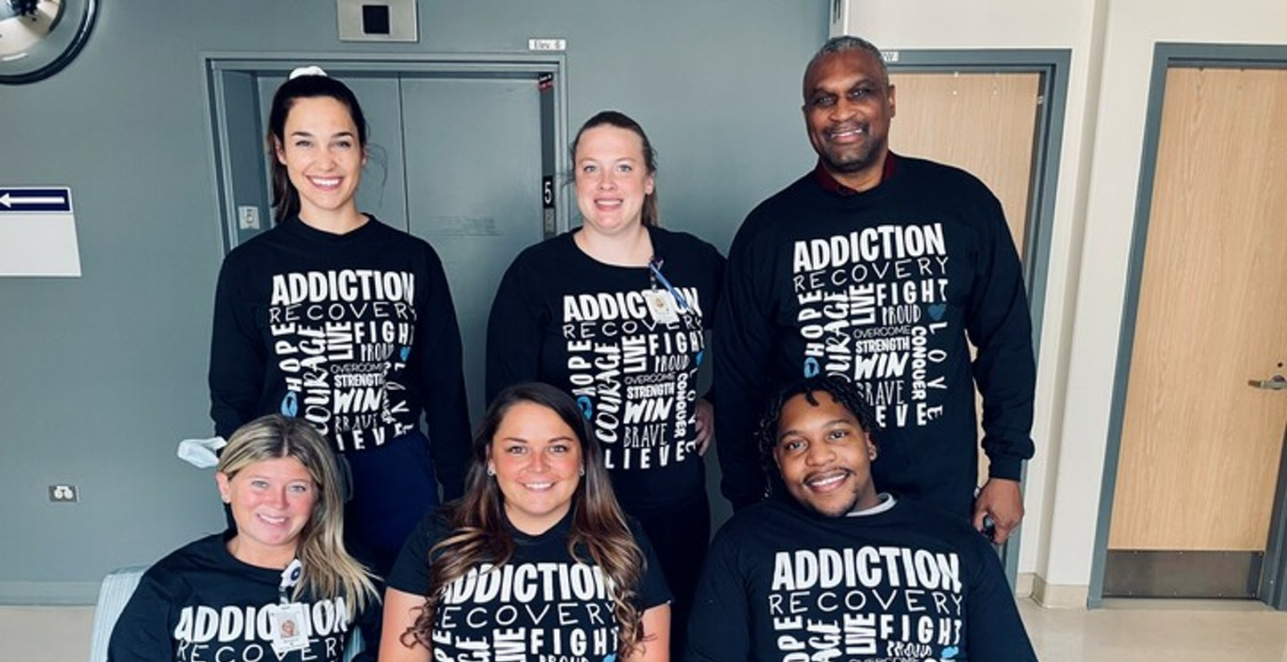 Chemical Dependency Team  T-Shirt Photo