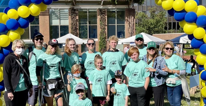 Team Green Eyed Lady T-Shirt Photo
