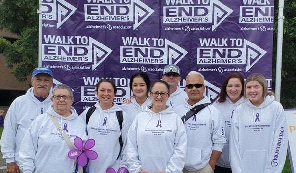 Walk To End Alzheimer's: Love For Laura T-Shirt Photo