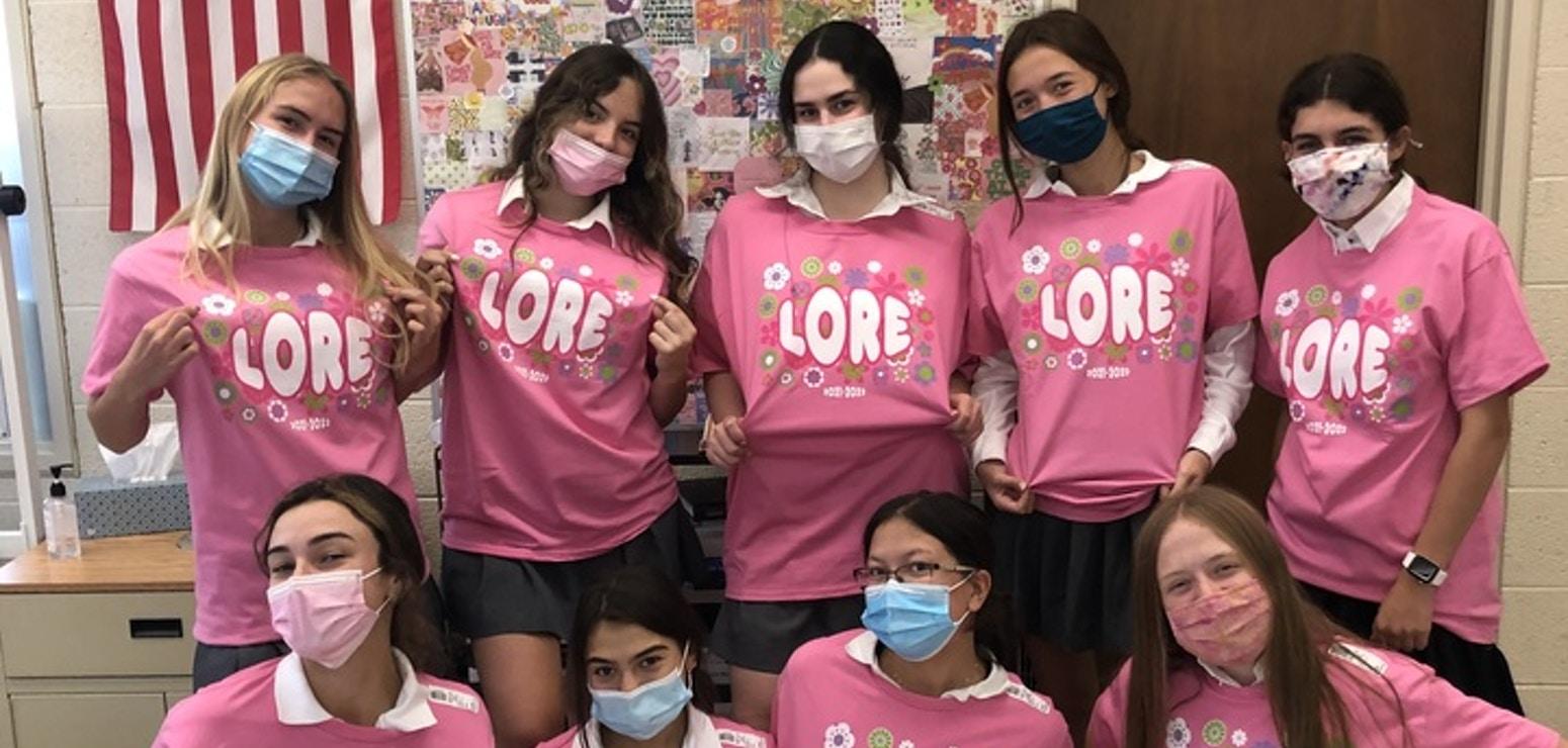 Lore Staff T-Shirt Photo
