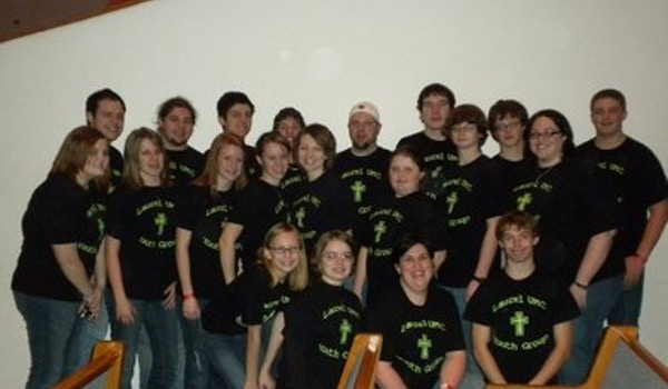 Laurel Umc Youth Group Acquire The Fire 2010 T-Shirt Photo
